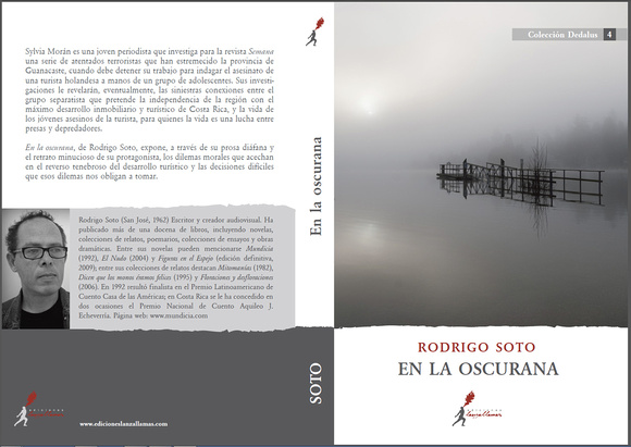 """Book cover of """"la Oscurana"""" with a photo from Pierre @ Folrev Photography"""