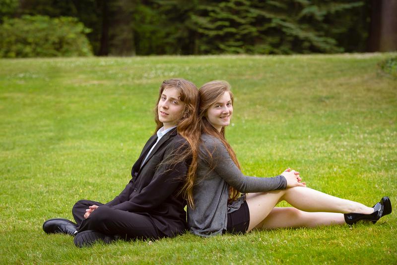 Brother and sister - Kirkland Photography