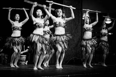 B&W Seattle event photography - Dancers