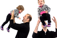Dad playing with his daughter - Lifestyle protrait