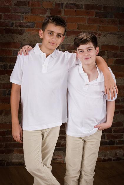 photo of two older children in Kirkland