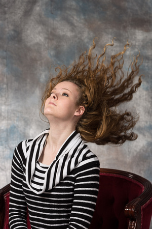 Flying Hair - Senior Photography