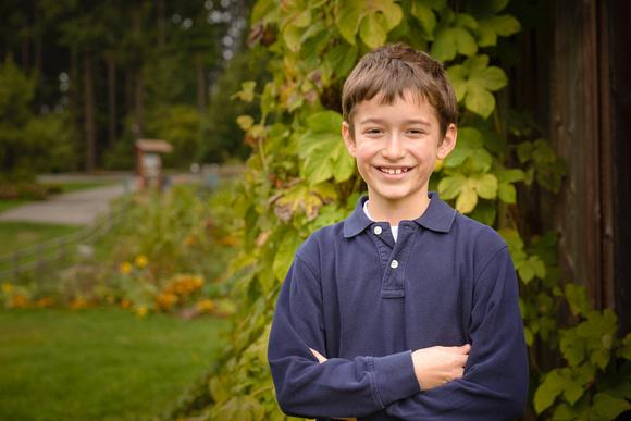 Kirkland Photographer / Kid in a park